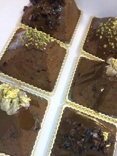 マロンとチョコのケーキ